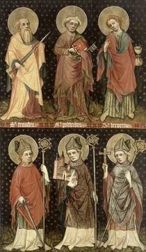Six Saints  von Master of the Holy Barefoot Altarpiece