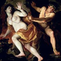 Orpheus and Eurydice by Giovanni Antonio Burrini or Burino