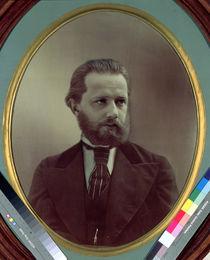 Piotr Ilyich Tchaikovsky  by M. Panov
