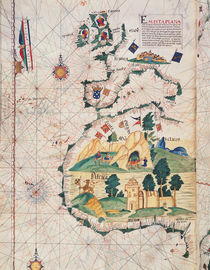 Fol.5v Map of Great Britain von Luis Lazaro