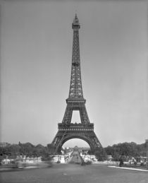 The Eiffel tower by Gustave Eiffel