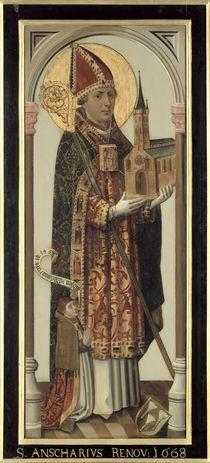 Votive Panel Depicting St. Ansgar von Hans Bornemann