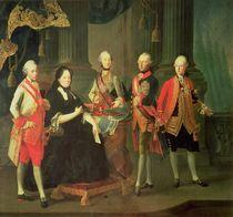 Empress Maria Theresa of Austria  von Louis Joseph Maurice