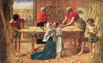 Christ in the House of His Parents by J.E. Millais