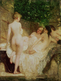 After the Bath by Karoly Lotz