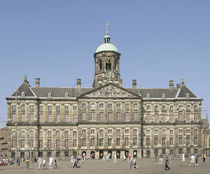 Royal Palace in the Dam  by Jacob Van Campen