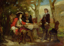 Meeting between Jean Cavalier  by Jules Salles-Wagner