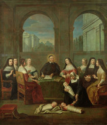 St. Vincent de Paul and the Sisters of Charity von Jean Andre