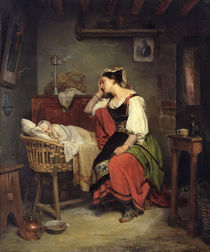 The Sick Child  by Jean Augustin Franquelin