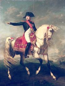 Equestrian Portrait of Napoleon I  by Joseph Chabord