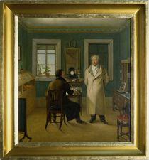 Goethe Dictating to his Clerk John by Johann Joseph Schmeller