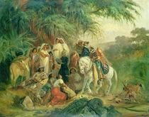 Folk scene in Pico de Orizaba von Johann Moritz Rugendas