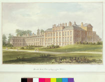 South East View of Kensington Palace by John Buckler