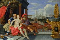 Susanna Bathing  by Johann or Hans Konig