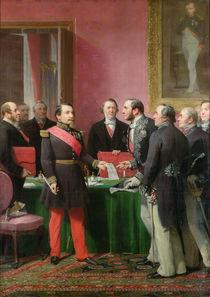 Napoleon III  by Adolphe Yvon