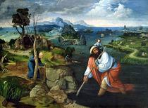 St. Christopher  by Joachim Patinir