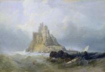 St. Michael's Mount von William Clarkson Stanfield