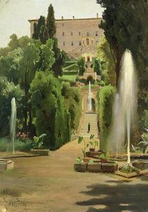 Villa D'Este by Ascan Lutteroth