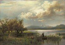 Bayern Landscape by Augustus Wilhelm Leu