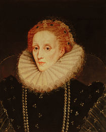 Portrait of Queen Elizabeth I  von the Younger Marcus Gheeraerts