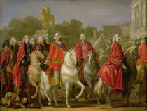 Inauguration of the Place Louis XV by the Elder Joseph-Marie Vien