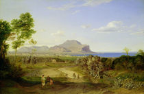 View over Palermo von Carl Rottmann