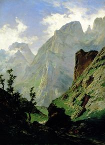 Mountains in Europe by Carlos de Haes
