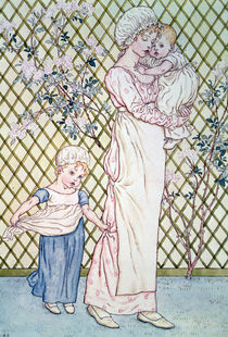 Mother and Child  von Kate Greenaway