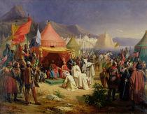 The Taking of Tripoli by Charles Alexandre Debacq