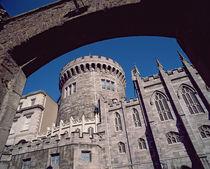 Dublin Castle by Irish school