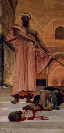 Execution Without Trial under the Moorish Kings in Granada von Henri Alexandre Georges Regnault