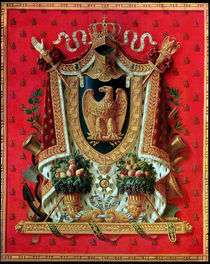 Coat of Arms of the French Empire by Louis Saint-Ange-Desmaisons
