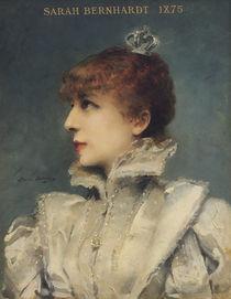 Sarah Bernhardt  by Louise Abbema