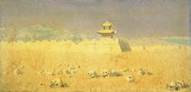 Ruins in Chuguchak by Piotr Petrovitch Weretshchagin