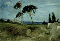 Landscape at Nettuno by Hans Speckter