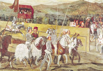 Tournament in Honour of Christian I  by Marcello Fogolino