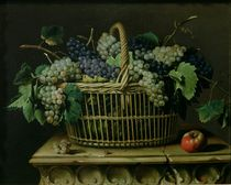 A Basket of Grapes  von Pierre Dupuis