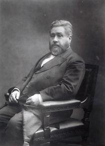 Reverend Charles Haddon Spurgeon  von Elliott & Fry Studio