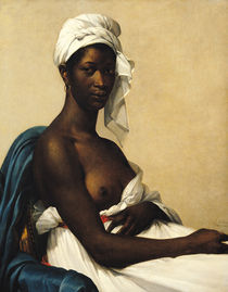 Portrait of a Negress von Marie Guilhelmine Benoist