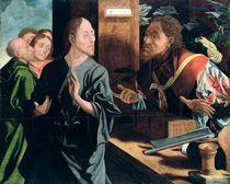 Calling of St. Matthew  by Marinus van Roymerswaele