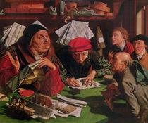 The Lawyer's Office by Marinus van Roymerswaele