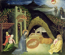 The Nativity  by Giovanni di Paolo di Grazia