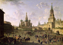 Red Square by Fedor Yakovlevich Alekseev