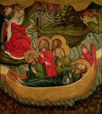 Embarkation of the body of St. James the Greater by Master of Raigern