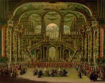A Dance in a Baroque Rococo Palace  by Francesco Battaglioli
