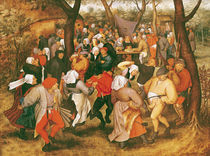 The Wedding Dance by P. the Younger Brueghel