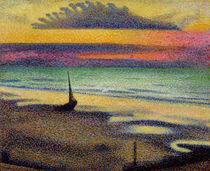 The Beach at Heist von Georges Lemmen