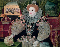 Elizabeth I by George Gower