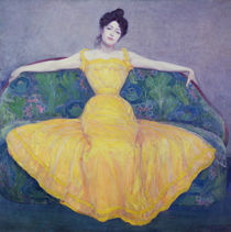 Lady in a Yellow Dress von Max Kurzweil