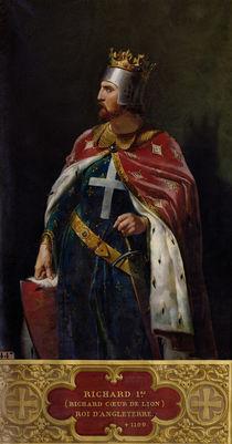 Richard I the Lionheart  by Merry Joseph Blondel